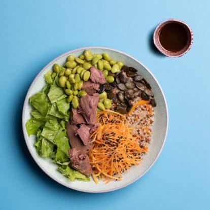 Qibi homepage meat salald
